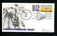 US Postal History Railroad Train Freedom Pictorial 9/25/1976 Washington DC