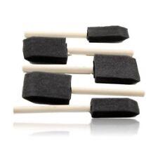 5 Pc Foam Craft Sponge Brush Set Paint Varnish Art Decor Craft Hobby Wood Handle