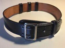 Vintage Ranger Gun Leather LTD Black Patent Leather Officer Belt 37