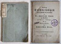 Daniel -Nöthige Erinnerungen 1792 Geschichte Sachsen August der Starke Polen -xz