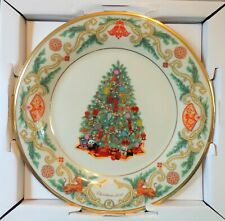 Lenox Trees Around The Word 2010 China Christmas Plate New in box