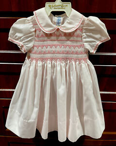 NWT Feltman Brothers Baby Girls' Smocked Dress - Size 6 Mths *READ*