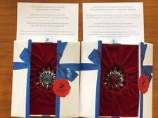 Swarovski Marguerite Flowers (Red and Green) - Renewal Membership Gift