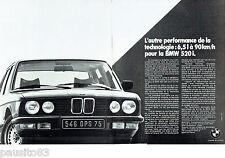 PUBLICITE ADVERTISING 016  1982  BMW   LA 520i  (2pages)