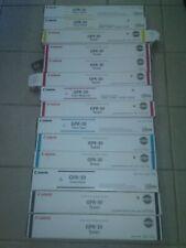 Lot of 14 Canon GPR-30 4 Colors(C M Y K)  Original Toner Cartridges Open Box