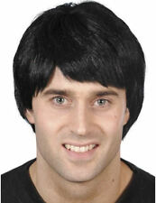 Short Black Guy Wig by Smiffys Costume Accessory 70sblack