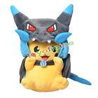 New Pikachu X Charizard Angry Soft Stuffed pikazard Pokemon Mega Plush Toy Doll