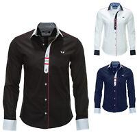 Carisma Herren Langarmhemd Freizeithemd Shirt Elegant Business Hemd Color Mix %