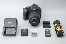 Nikon D5100 16.2MP DSLR Camera kit AF-S 18-55mm f3.5-5.6 G VR Lens *Low Shutter*