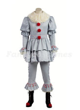 Boys IT Killer Clown Fancy Dress Costume Children Pennywise Evil Clown Outfit