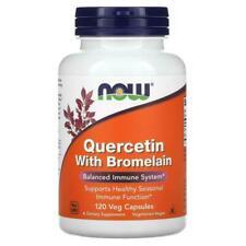 Now Foods Quercetin With Bromelain Veg Capsule - 120 Capsule (NOW03070 )