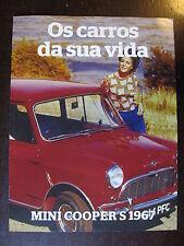 FASCICULE PORTUGAIS MINI COOPER S 1967 SERIE VOITURES INOUBLIABLES