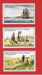 Norfolk Island #277-279  MNH OG  Migartion   Free S/H