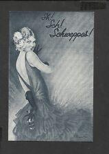 Nostalgia Postcard Advertisement for Schweppes Soda Water 1932
