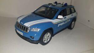 jeep grand cherokee polizia 1/24 elaborazione artigianale