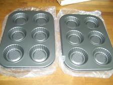 2 plaques de 6 tartelettes   moule mathon   diamètre environ 6,5 cm