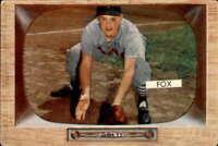 1955 Bowman #33 Nellie Fox VGEX White Sox 400285