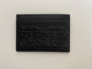 Loewe Black Leather Cardholder