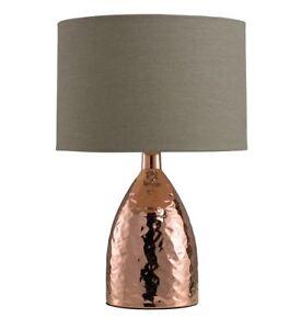 Medina Touch Table Lamp Bronze - Lighting & Interiors Group