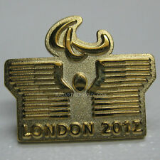 2012 London Summer Paralympic Sweden NOC Dated Pin