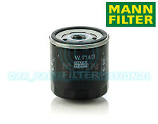 Mann Hummel OE Quality Replacement Engine Oil Filter W 714/3