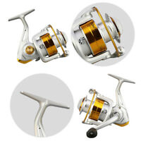 Left/Right Interchangeable Saltwater Freshwater Spinning Fishing Reel Wheel NEW