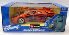 Burago 1/18 Scale Diecast - 2005 Lamborghini Diablo Monster Inc Disney Orange