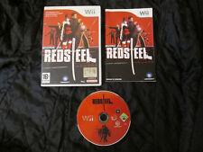 WII : RED STEEL - Completo, ITA ! Prima Stampa ! Compatibile con Wii U