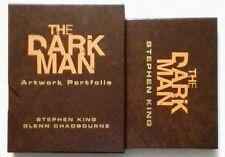 STEPHEN KING/G. CHADBOURNE - THE DARKMAN. SIGNED/LIMTED #289/500. BOOK/PORTFOLIO