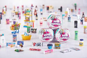 ZURU 5 Surprise Mini Brands Toy - Series 1 - You Choose