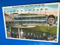 1920 Polo Grounds Post Card John McGraw HOF