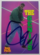 GZA The Genius Signed The Rap Pack Card #37 2018 Wu-Tang Clan Rap LEGEND RAD