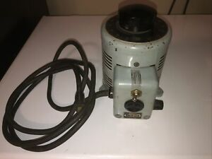 Powerstat Variable Transformer The Superior Electric Co. type 116 output 140V