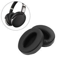 2pcs Replacement Ear Pads Parts for Sennheiser HD 4.50/4.50BTNC Headphones Black