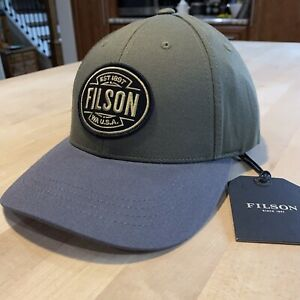 Filson Logger Cap - New With Tags - Olive - Rare