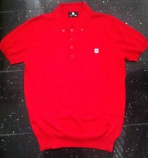 Peter Werth Size 3 Medium Red Polo Shirt Jumper Short Sleeved