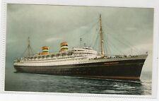 SS NIEUW AMSTERDAM - SHIPPING POSTCARD (C340).