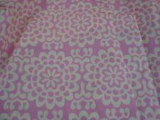 """2 yds 100% Cotton Fabric Quilt Craft 44"""" x 72"""" Pink Cream Medallion Btp"""
