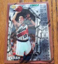 1996-97 Topps Finest Steve Nash Rookie RC #75 Pheonix Suns B