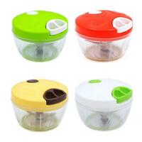 Multi function Food cessor Manual Meat Machine Chopper Salad Crusher NEW