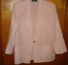 3-PC Suit: Blazer Pants Skirt, Sag Harbor, Pink  New size 10