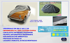 Telo copriauto FIAT 500 copertura per auto teli universale impermeabile epoca in