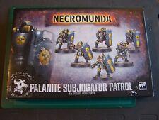 Palanite Subjugator Patrol Necromunda Gang (bits)