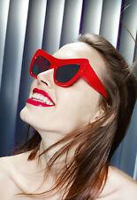 Le Specs Women's Pink X Adam Selman 'playgirl' Plastic Oversize Sunglasses