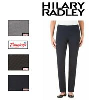 SALE! Hilary Radley Womens Slim Leg Pull On Pant 29' inseam Size / COLOR C13