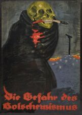 The danger of Bolshevism - German WW1 Propaganda Poster