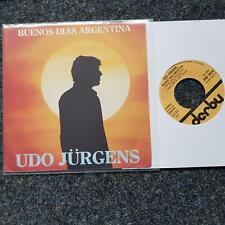 Udo Jürgens - Buenos dias Argentina 7'' Single ITALY SUNG IN SPANISH