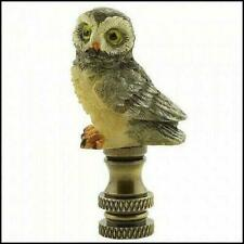 Gray Owl Electric Lighting Lamp Shade Finial