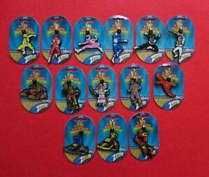 Mighty Morphin Power Rangers 14 Vintage 1990s Saban Dufort Zipper Clipper Set