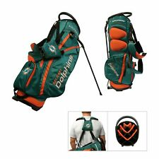Licensed NFL Miami Dolphins Team Golf Stand Bag